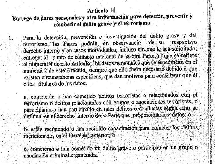 Articulo 11 del acuerdo Visa Waiver.jpg
