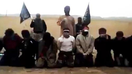 Brutal ejecución de personas desarmadas por terroristas Contras en Siria.jpg