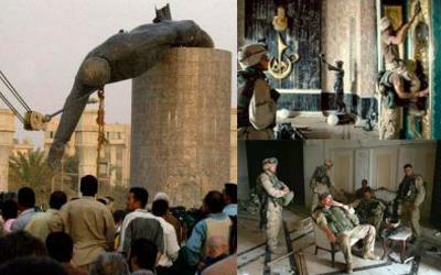 Destruccion y saqueo en Bagdad.jpg